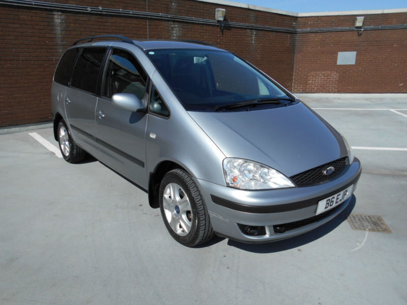 (03) 2003 Ford Galaxy 2.8 Automatic Ghia Large Screen Dvd Service History