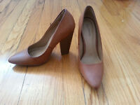 Talons hauts Spring taille 37 - Brown Spring Pumps size 7
