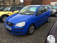 Volkswagen polo e 55, 56 reg 1owner fsh excellent condition £25 a week on finance