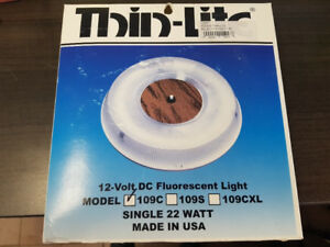 Round Thin-Lite 12v Light