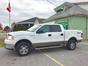 2005 Ford F-150,XLT-S-CREW NO ACCIDENT RUST FREE CERTIFIED $7995