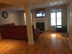 1 BR Walk-out Basement Apartment for Rent in  Brampton