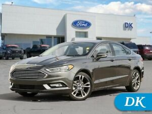 2018 Ford Fusion Titanium  **Certified Pre-owned**