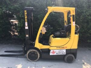 !! Reconditioned 2008 Hyster, propane forklift !!