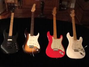 American Classic Lasido Gr Pre-Godin Guitare Guitare 80-90's