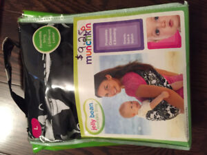 Baby carrier, crib mobile, jumpsuit cover and stroller cover