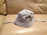 Gymboree 0-3 months reversible hat