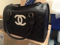 Replica Chanel Dog Carrier $50