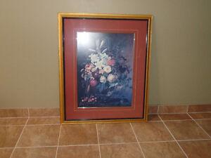 Framed Floral print Windsor Region Ontario image 2