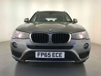2015 BMW X3 XDRIVE20D SE DIESEL HEATED SEATS SAT NAV 1 OWNER SERVICE HISTORY
