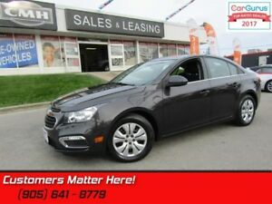 2015 Chevrolet Cruze LT w/1LT  MANUAL, POWER GROUP