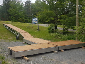 Gangway and Floating Dock