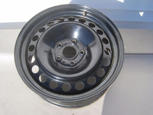 Ford 17 inch steel wheels with sensors