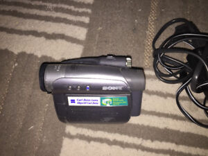 For sale sony handycam sold as is