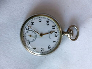 Record Pocket Watch (Lancaster Watch Co.)