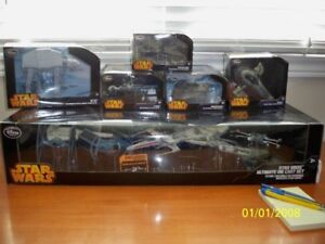 DISNEY DIE CAST SHIP COLLECTION, FIRST RELEASE PACKAGING