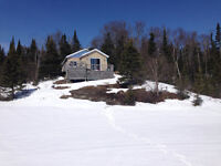 CAMP FOR SALE FOXXE LAKE 20KM EAST OF TERRACE BAY