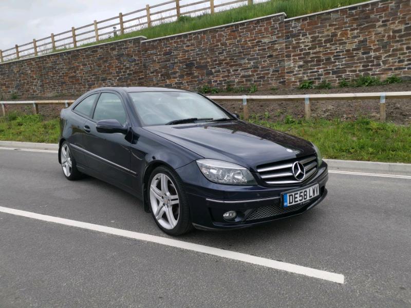 Mercedes Clc 220 Cdi Sport Auto Full Service History 11 Months Mot