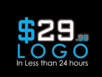 $30 CUSTOM LOGO ................ IN LESS THAN 24 HOURS FLAT RATE