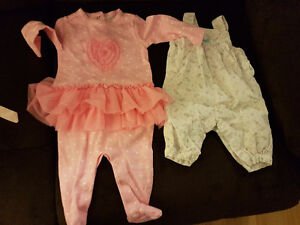 Lot of baby girl dresses
