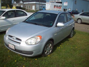 2007 Hyundai Accent Coupe $1995 Only 96000km
