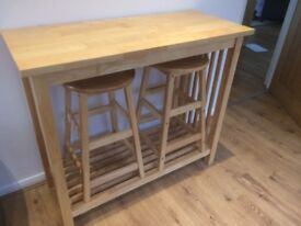 John Lewis kitchen Breakfast bar £70