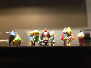 The Legend of Zelda - set of 9 MicroLand figures