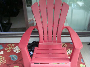 New patio chair