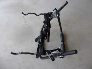 Bike carrier for trunk of car