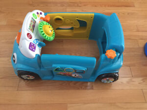 Baby toy learning car