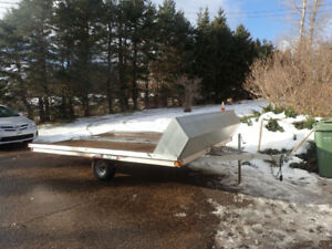Triton  Double Snowmobile Trailer