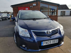 2009 Toyota Avensis 1.8 V-matic 2009MY TR MANUAL PETROL NEW SERVICE