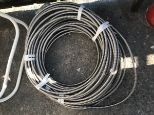 Over 100 feet of 12/4 bx cable
