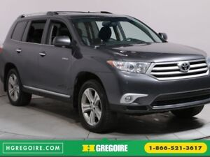 2012 Toyota Highlander Limited 7 PLACES BLUETOOTH CUIR NAV TOIT