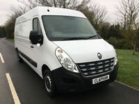 2014 14 RENAULT MASTER LWB LM35 2.3DCI 125BHP 1 COMPANY OWNER