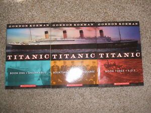 Titianic-Gordon Korman Trilogy-MINT London Ontario image 1