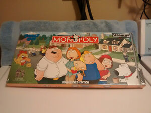 Family Guy Collector's Edition Monopoly - 2006 - Unopened