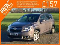 2012 Chevrolet Orlando 1.8 LT 5 Speed 7-Seater MPV Climate Control Parking Senso