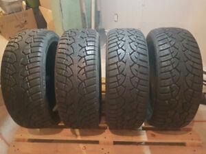 General Tire Altimax Arctic Tire 205/50r17 **200$ les 4**