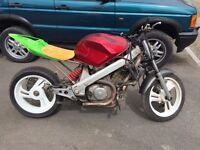 Honda NTV 600 street bike project