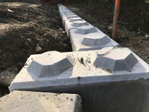 Locking Concrete Blocks