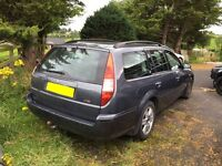 Wanted ford mondeo mk3 estate for parts or repair