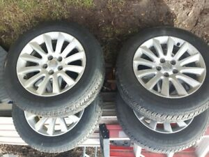 Tires and rims from Chrysler 300 ..off 2013 ,, with sensors