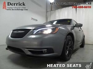 2013 Chrysler 200 Used S Nav Bluetooth Pwr Exp Sunroof $110 B/W