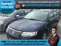 Saturn Ion Available for Bad Credit and No Down Payment.