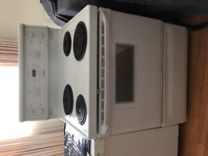"""GE coil 30""""electric coil stove range oven"""