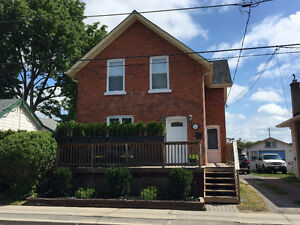 Semi-furnished 3-bedroom home in downtown Cobourg