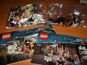 Lego - Pirates of the Caribbean 4182,  4191 and 4192