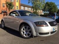 AUDI TT FOR SALE, only 1 previous owner, most major expensive parts replaced by new original parts