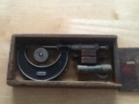 1-2 inch Moore and wright micrometer